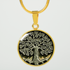 Tree of Life Celtic 18K Gold Pendant Necklace