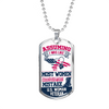 Assuming I Was Like Most Women First Mistake Woman Veteran  Necklace