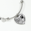 Bereavement Pet Memorial Forever In My Heart Stainless Steel Bracelet