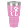 I LOVE My Pet Polar Camel 30oz Ringneck Tumbler