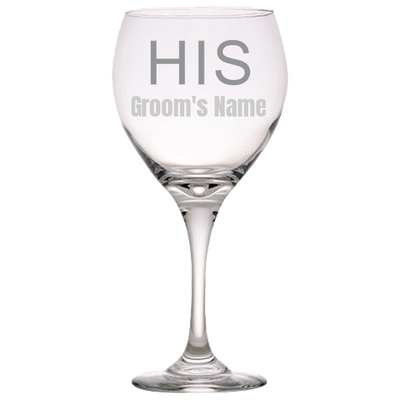 HIS Wine Glass