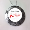 Babys First Christmas Personalized Christmas Ornament