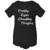 Pretty Eyes Chubby Thighs Baby Body Suit Onesie