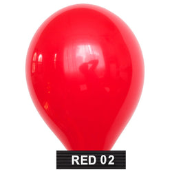"cherry red 11"" balloons latex"