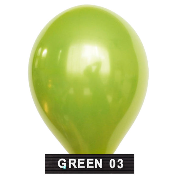 "Lime green balloons 11"" latex"