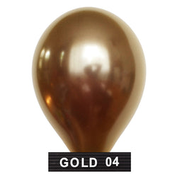"gold balloons 11"" latex"