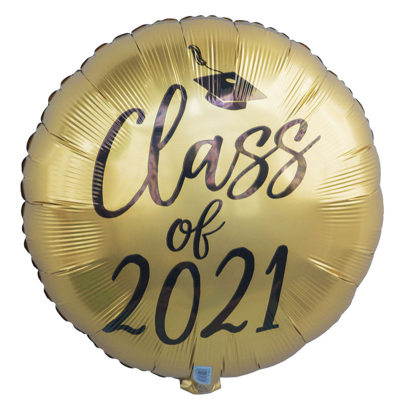 "18"" Gold Class of 2021"