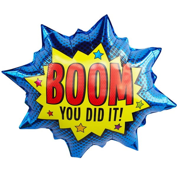 BOOM! You Did It!