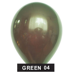 "olive green balloons 11"" latex"