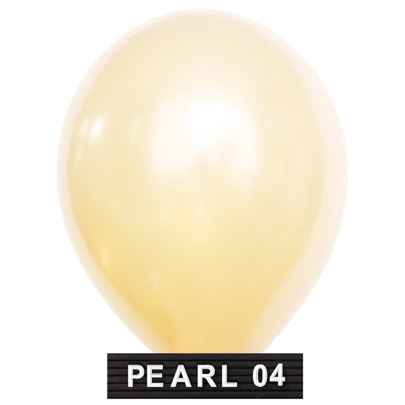 "light gold balloons 11"" latex"