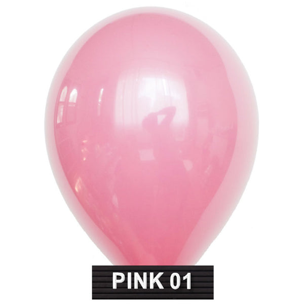 "pink 11"" balloons latex"