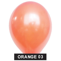 "peach balloons 11"" latex"