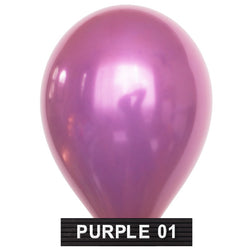 "purple 11"" balloons latex"