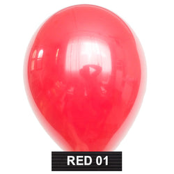 "red 11"" balloons latex"