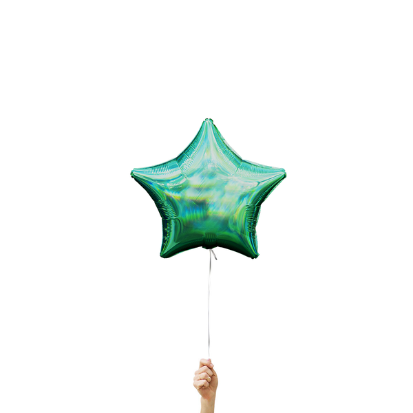 Iridescent Green Star