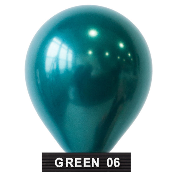 "teal balloons 11"" latex"