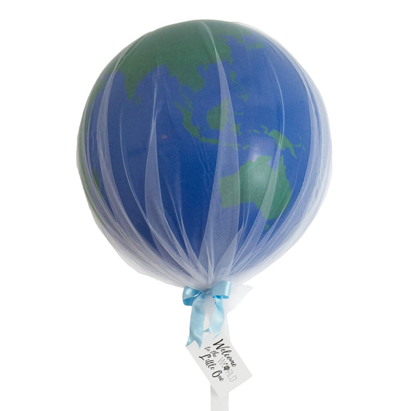 Welcome to the World Globe Balloon