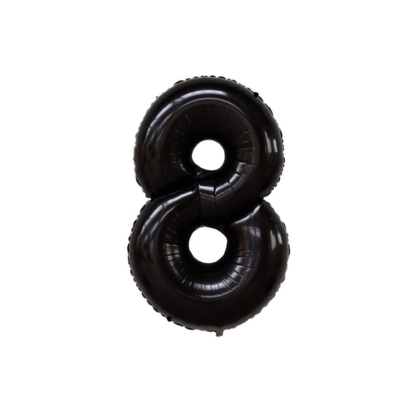 "40"" Number EIGHT - Black"