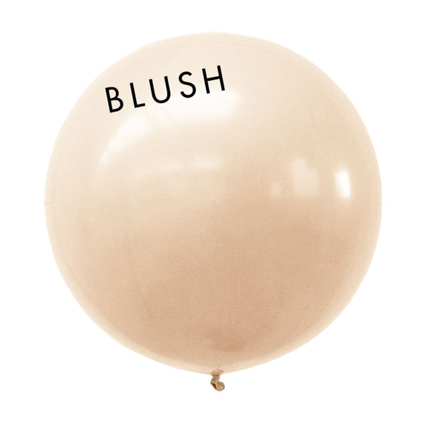 blush 3' globe balloon