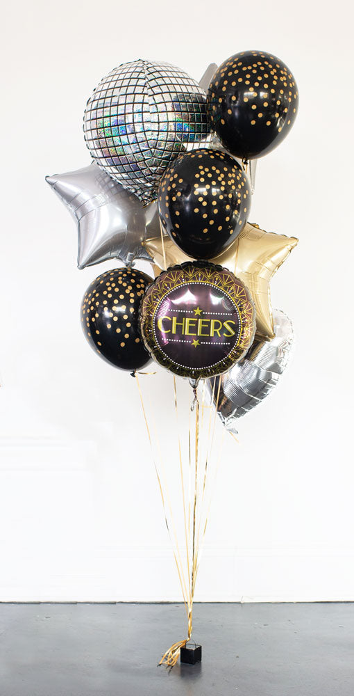 Helium-filled Countdown Bouquet!