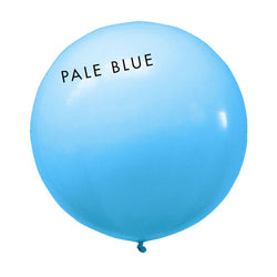 pale blue 3' globe balloon