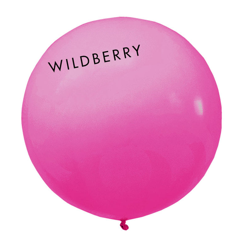 wildberry 3' globe balloon