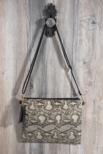 Load image into Gallery viewer, Faux snake skin Crossbody bag shoulder bag clutch - Stylish n Trendier