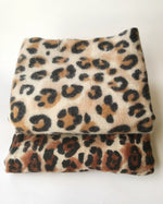 Load image into Gallery viewer, animal leopard print winter warm  blanket scarf shawl light color