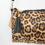 Load image into Gallery viewer, Leopard Print Faux skin Crossbody bag