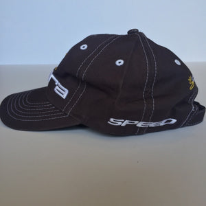 Grey with yellow white logo cotton Cobra Golf Cap - Stylish n Trendier