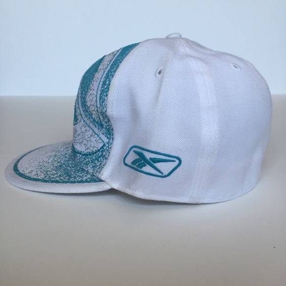 white teal Reebok Sports Cap Athletic hat