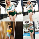 Load image into Gallery viewer, Matching Family Bathing Suits Mother Girl Bikini Swimsuit - Stylish n Trendier