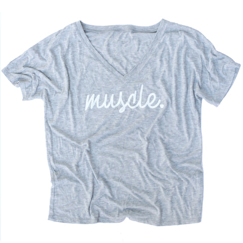 Muscle Loose V-Neck