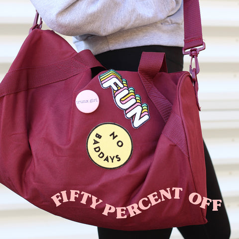 So much FUN Patch Gym Bag