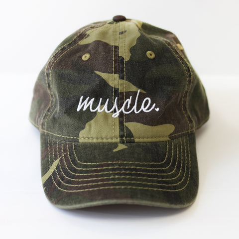 Muscle Camo Dad Hat