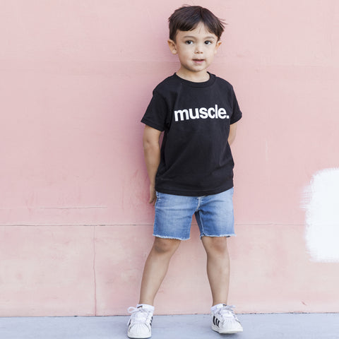 Boys Muscle Kids Tee