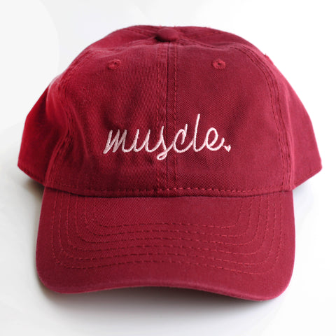 "Muscle ""Maroon"" Dad Hat"