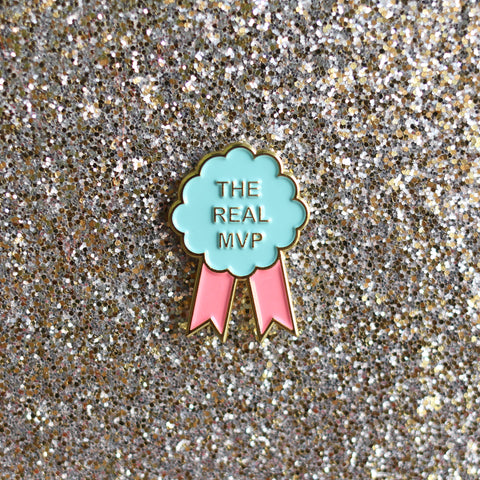 The Real MVP Pin