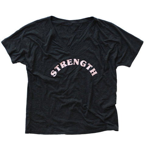 New Strength Loose V-Neck
