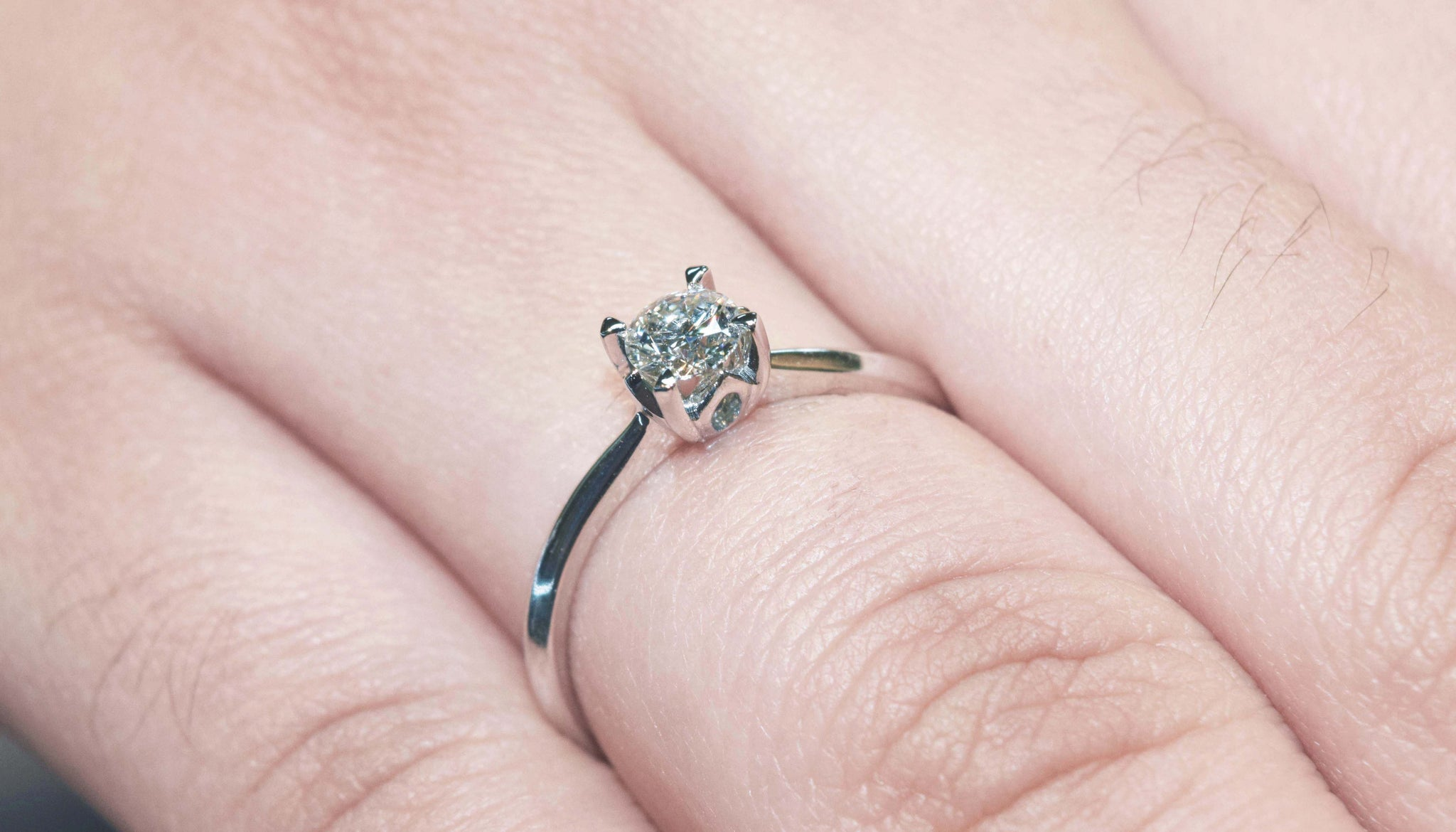 with signature petite four ring platinum catalina solitaire nouveau engagement pin prong diamond in rings preset