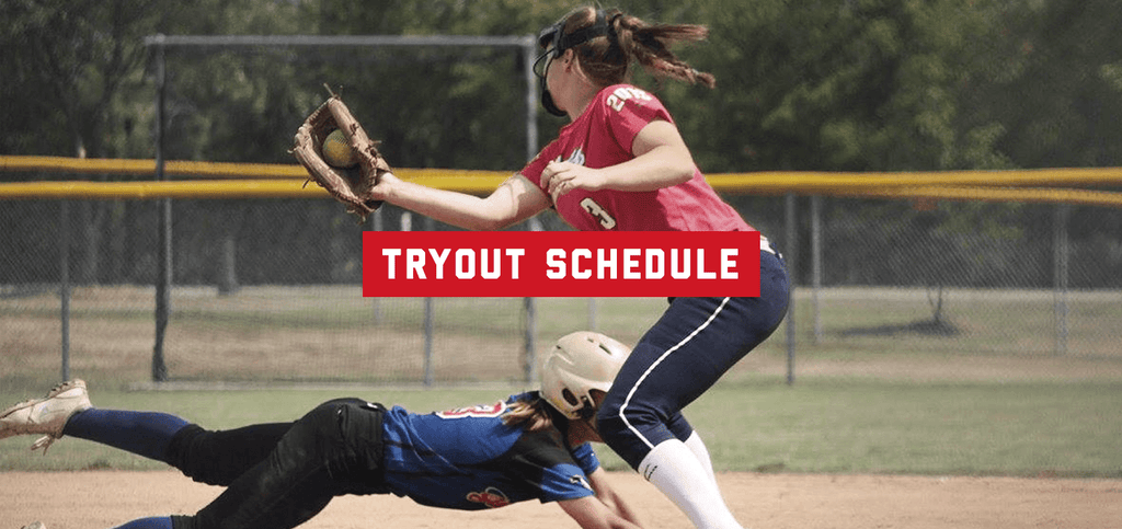 2018–2019 Tryout Schedule