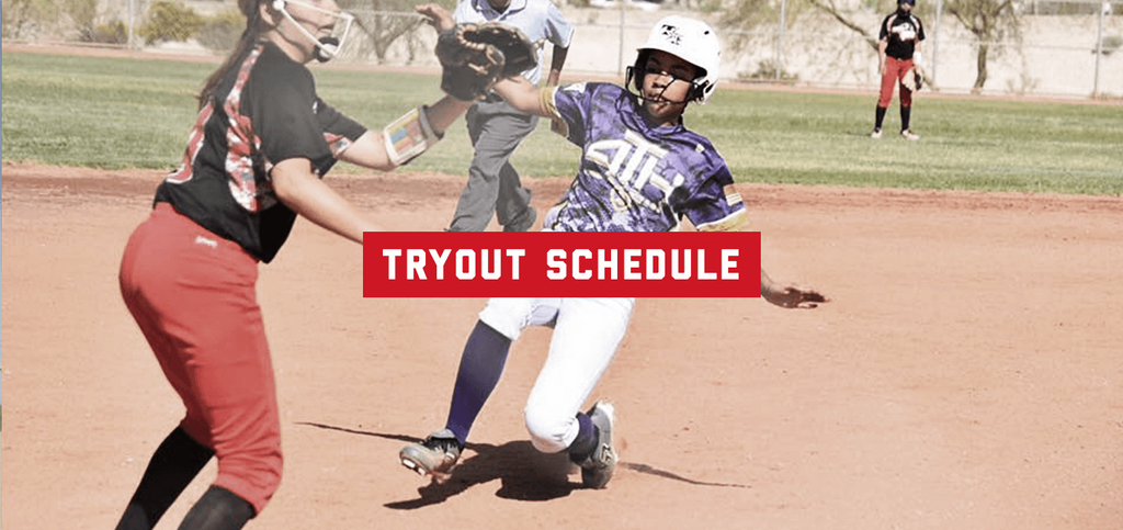 2017–18 Tryout Schedule