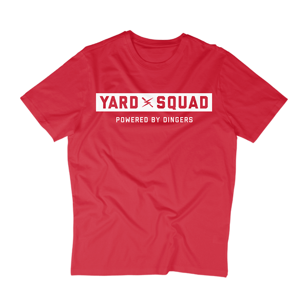 Yard Squad Powered by Dingers Tee