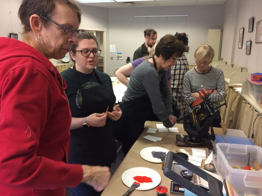 Makers Day at Woodbury, NJ Library, March 25, 2017