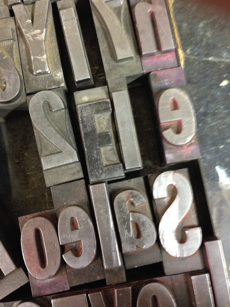 Letterpress and printmaking workshops
