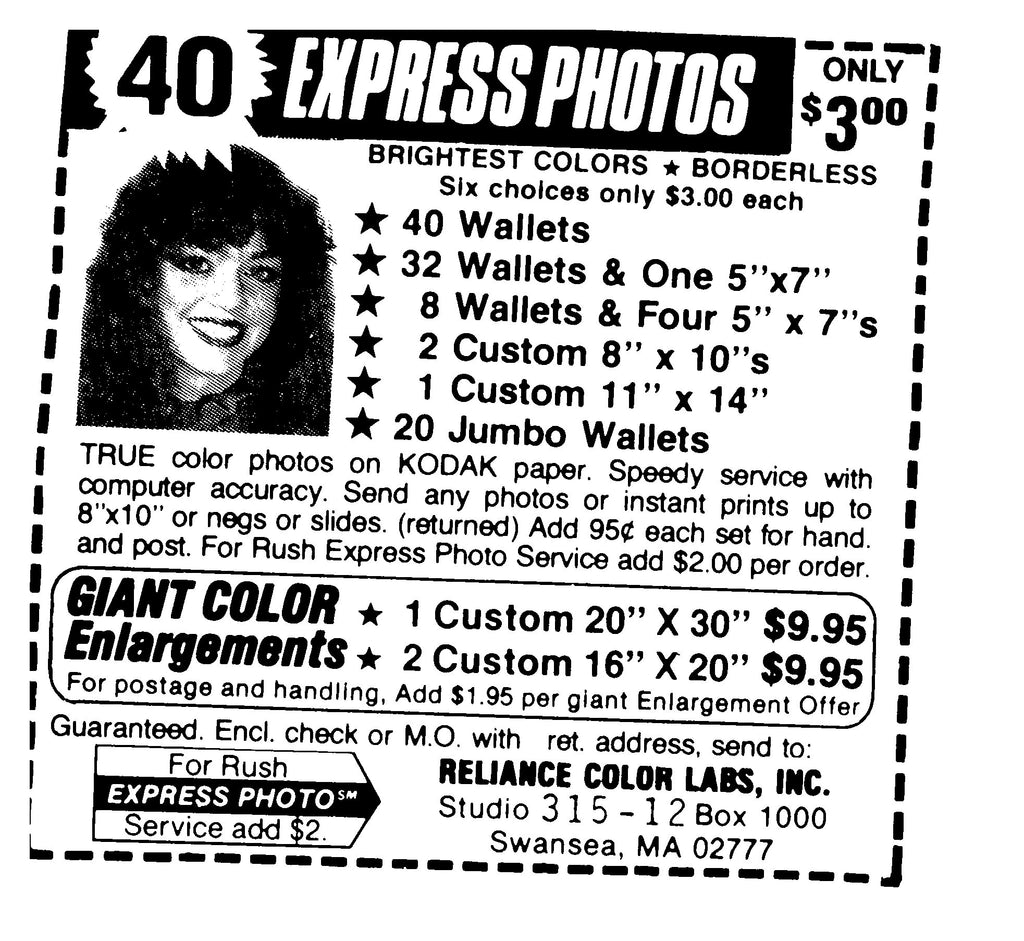 Happy Birthday! - Express Photo Ad