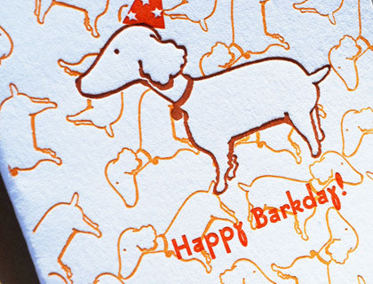 Happy Barkday to your favorite dog!