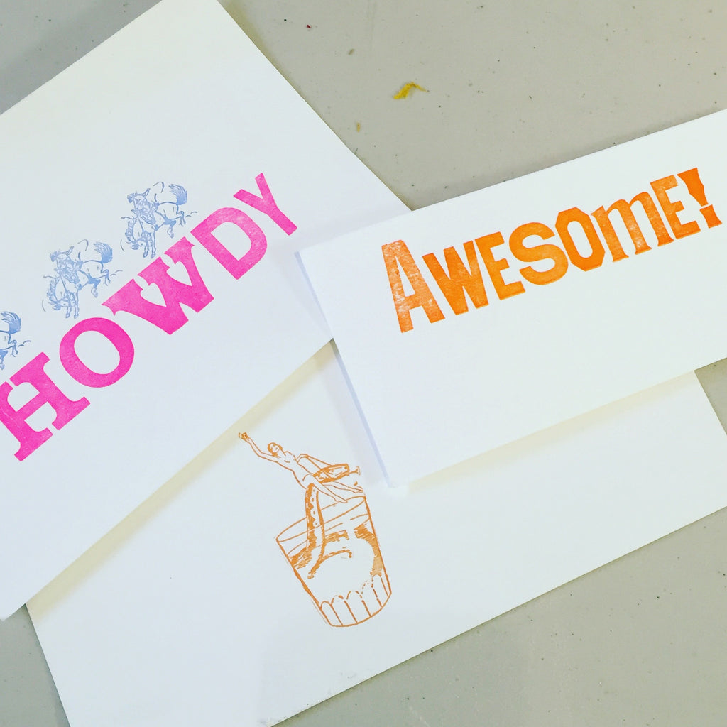 Intro to letterpress workshop [6:30PM-9:00] Pick your date-Feb 12, 20 Mar 20, 27