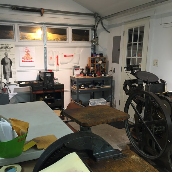 Intro to letterpress workshop
