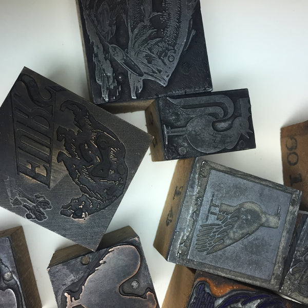 Children letterpress print workshop- Saturday,  Feb 9, Mar 30 [9:30-11:30]